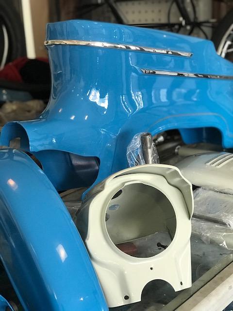 Jawa 50/20 sport – lakovanie, GO motora, renovacia kolies