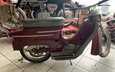 Jawa 50/05 Pionier – renovácia motocyklu