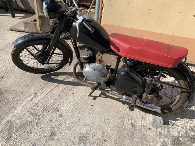 ČZ 150c 1950 – kompletná renovácia motocyklu
