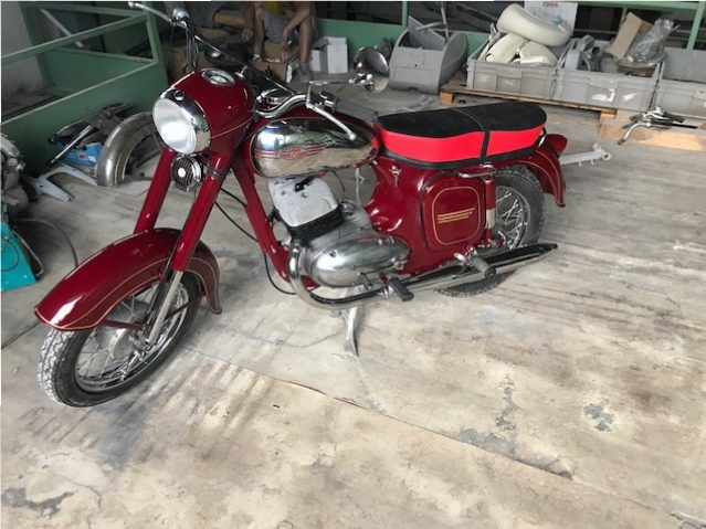 Jawa 350/360, 632 – renovácia motocyklu