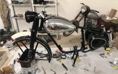 ČZ 150c – kompletná renovácia