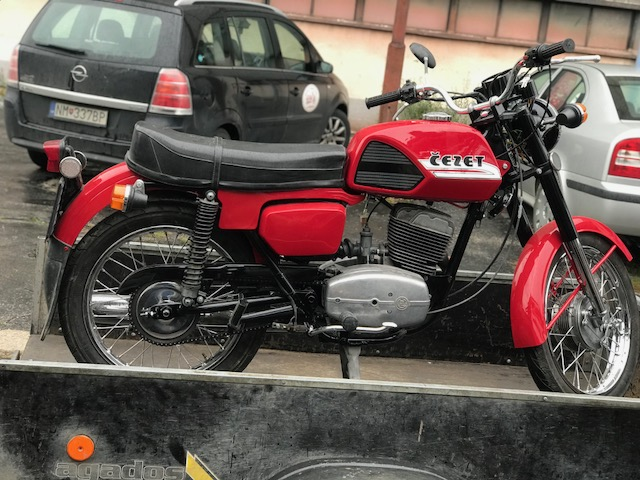 ČZ 175/487 –  čistočná Renovácia motocyklu