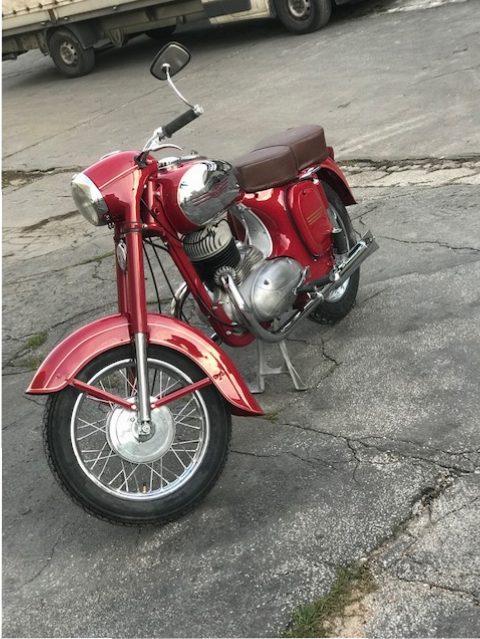 Jawa 250/353 – čiastočná renovácia