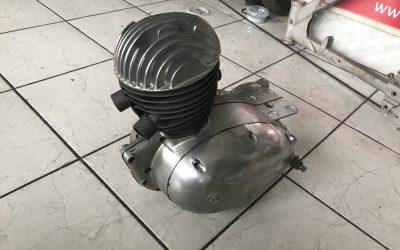 ČZ 125 T – generálna oprava motorov