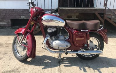 Jawa 250/353 – kompletná renovácia motocykla