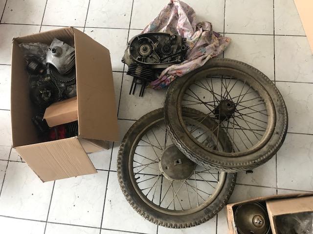 Jawa 250/11 Perák – GO motora + repas kolies + chrómovanie