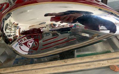MANET 90  – lakovanie motocyklu