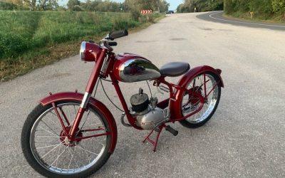 Manet 90 1951 – kompletná renovácia motocyklu