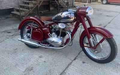 Jawa 500 OHC 15-01 – kompletná renovácia motocyklu
