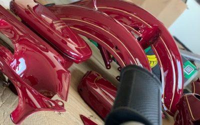Jawa 250/559 Panelka – GO motora a lakovanie motocyklu