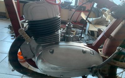 Jawa 350/360 Panelka – GO motora