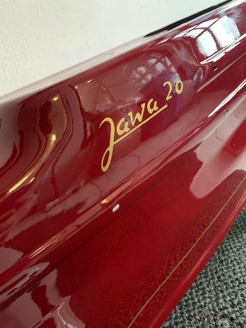 Jawa 50/20 – Lakovanie motocyklu