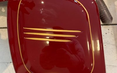 Jawa 250/559 Panelka – lakovanie motocyklu