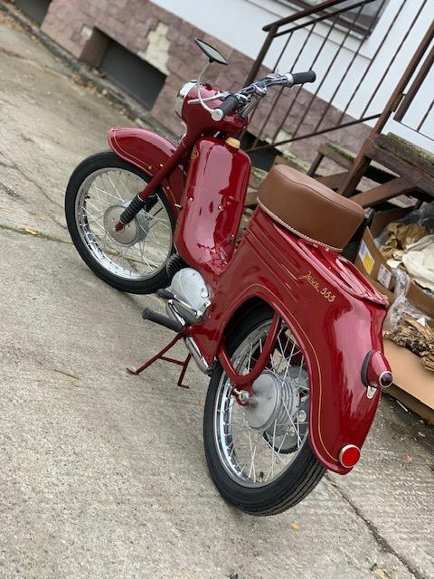 Jawa 555 Pionier – kompletná renovácia motocyklu