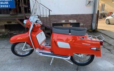 Tatran 125 – Kompletná renovácia motocyklu